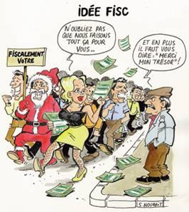 Le père Noël fiscal